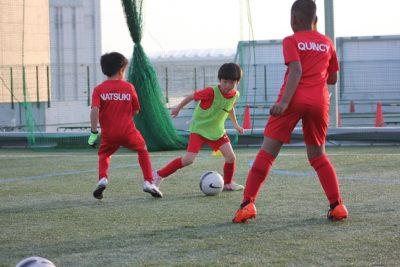 千葉―サッカースクール練習風景